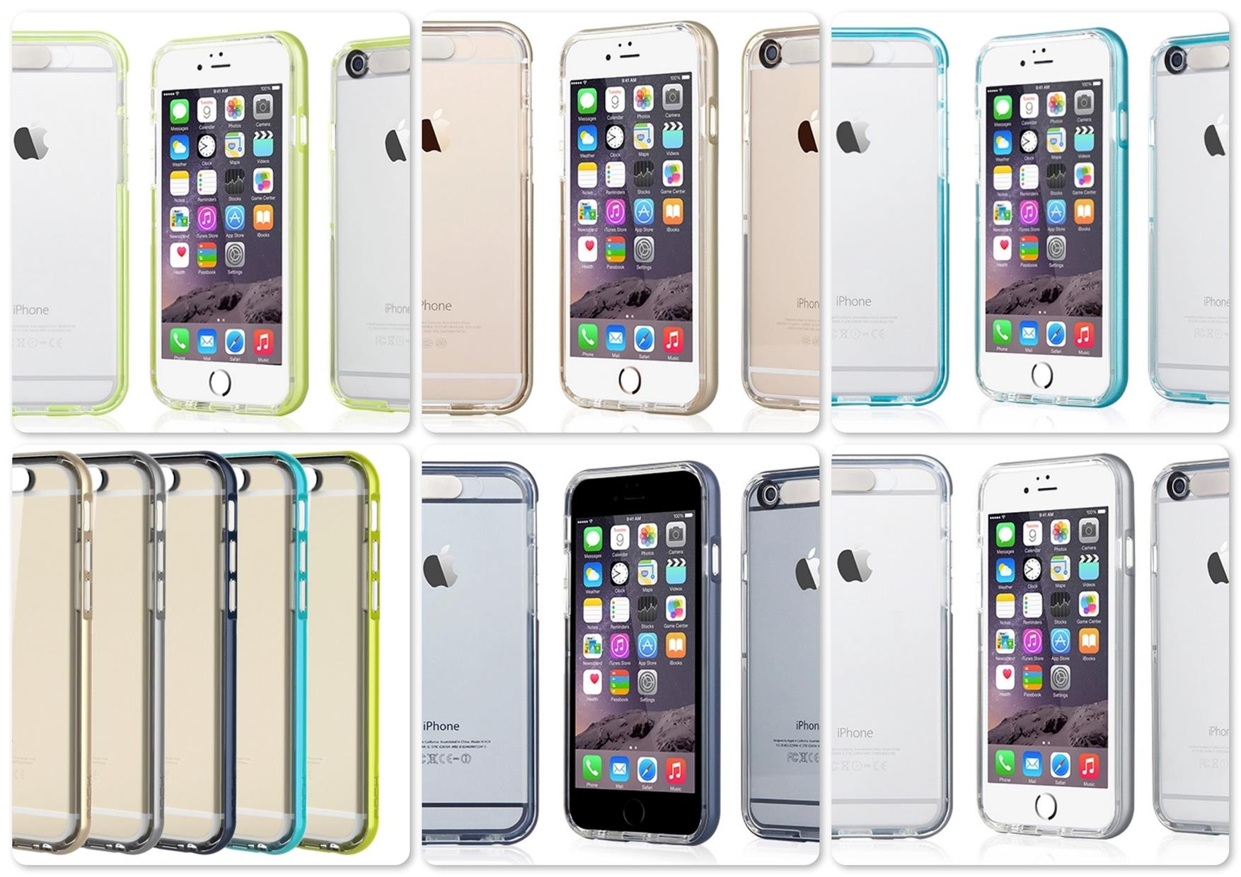 Apple iPhone 6 Plus 5.5 Rock Light Tube Series Flash Light Bumper Case