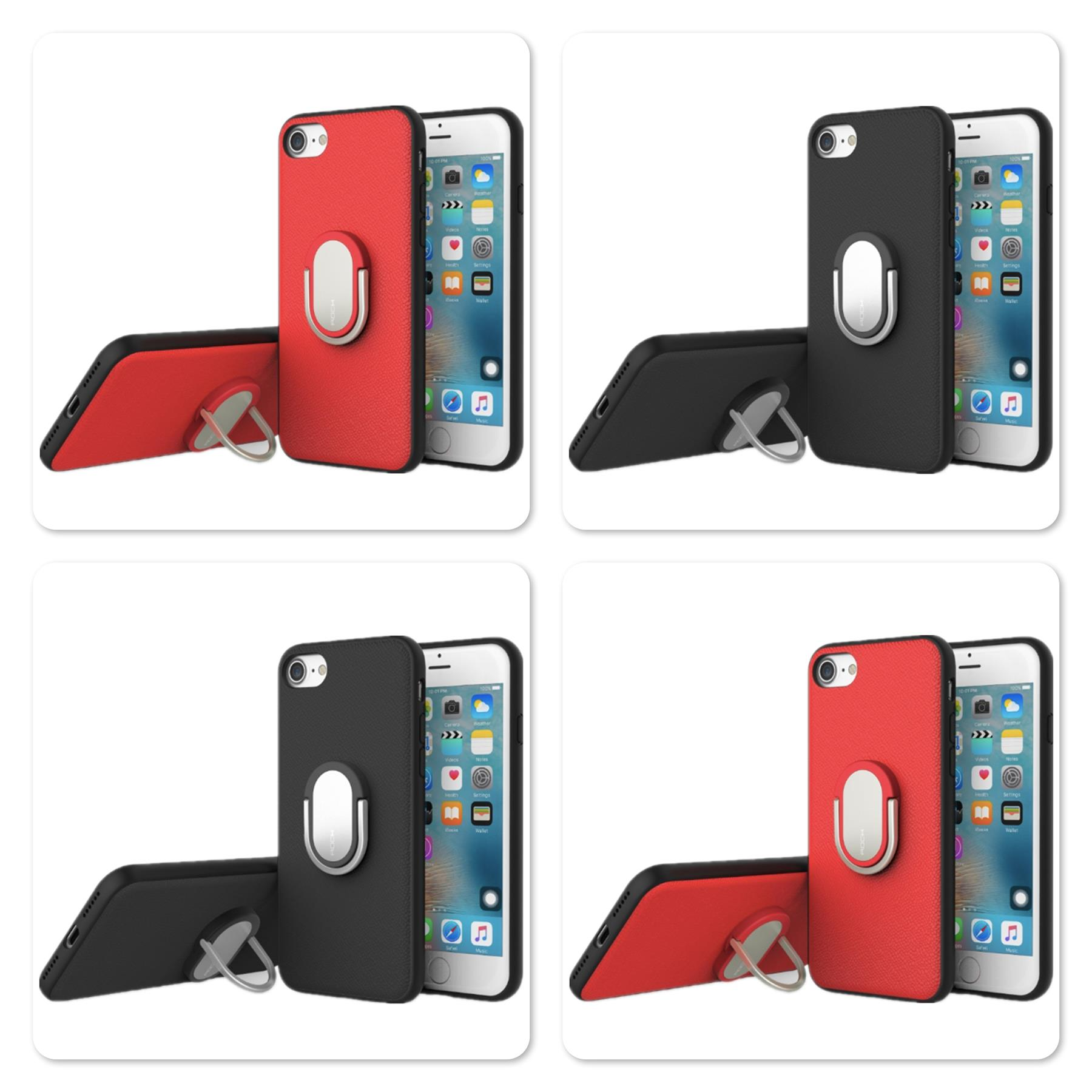 Apple iPhone 7 4.7' Rock M1 series Ring Holder Case with Kickstand