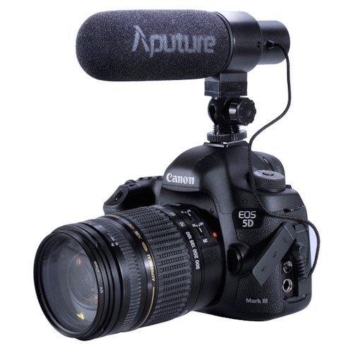 Aputure V-Mic D2 Microphone for DSLR Camera