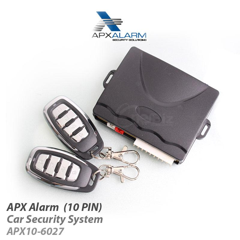 APX Alarm - Car Security System (10 PIN) APX10-6027