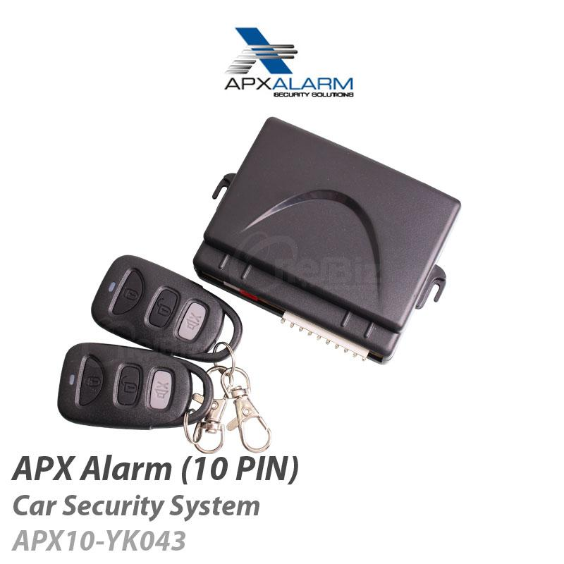 APX Alarm - Car Security System (10 PIN) APX10-YK043