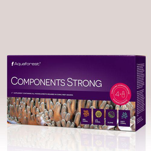 Aquaforest - Components Strong - 4x50ml