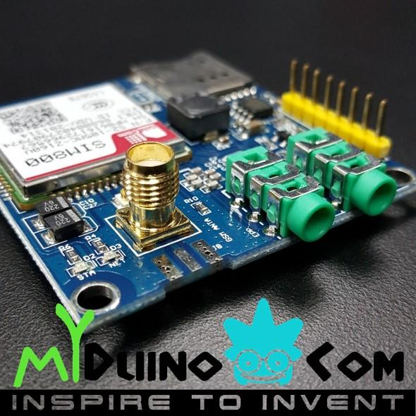 Arduino gsm gprs sim break end pm myt