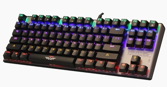 ARMAGGEDDON WIRED USB MECHANICAL BLUE SWITCH KEYBOARD MKA-3C