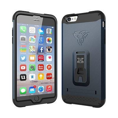 ARMOR-X SHOCKPROOF RUGGED CASE FOR IPHONE 6/6S PLUS - NAVY