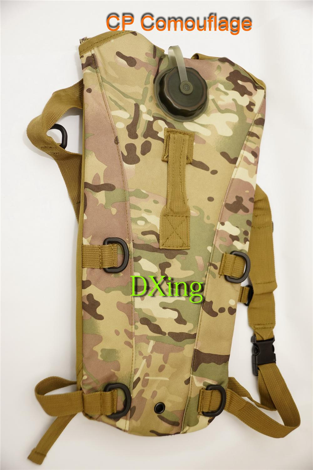 Army Bag+3Liter Water Bladder For Hiking & Outdoor