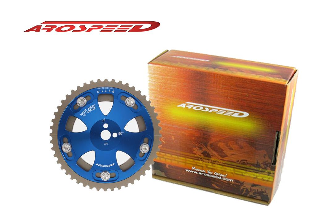 AROSPEED Adjustable Cam Pulley EVO 1-9/VR4 (BLUE)