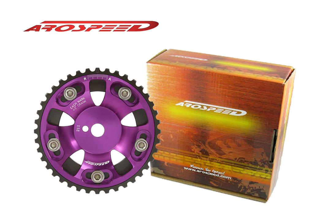 AROSPEED Adjustable Cam Pulley P12V (Purple)