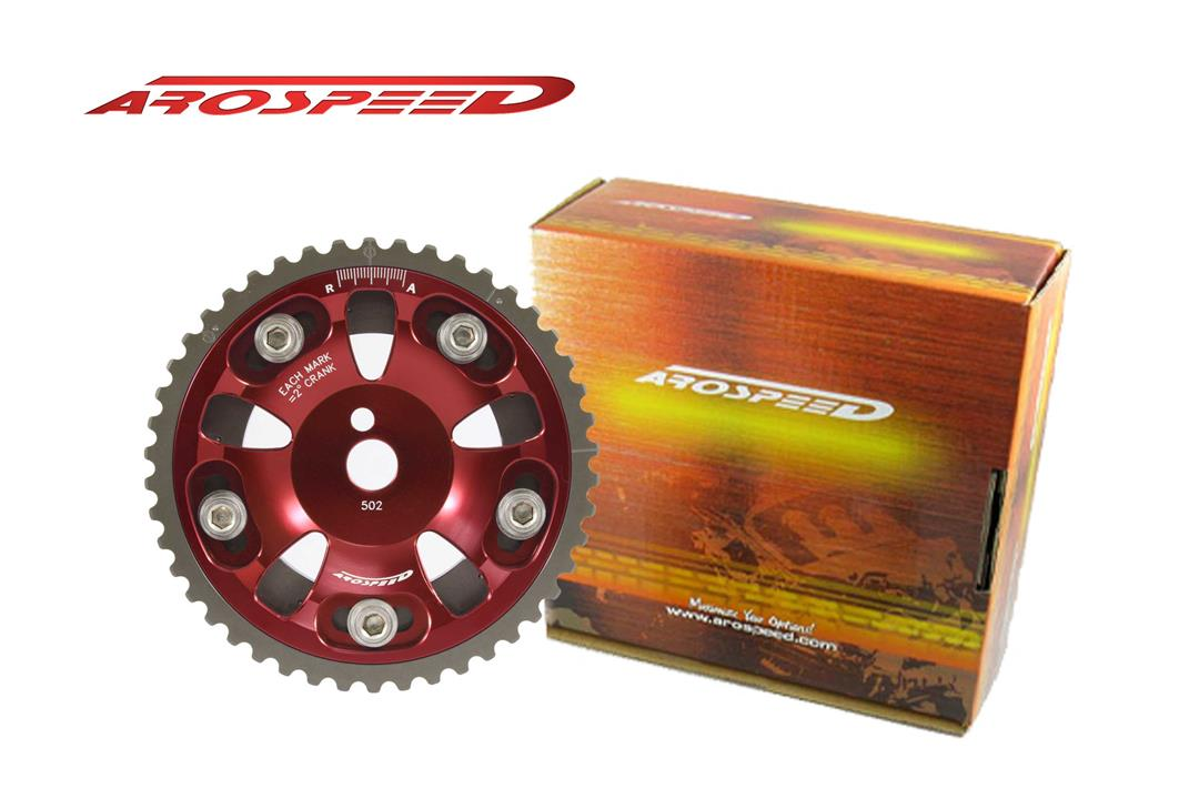AROSPEED Adjustable Cam Pulley PWR18 (Red)