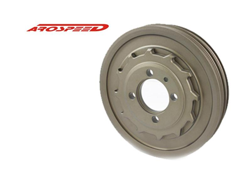 AROSPEED HARDEN LIGHTEN ALUMINIUM CRANK PULLEY MITSUBISHI EVO 4-8 4G63