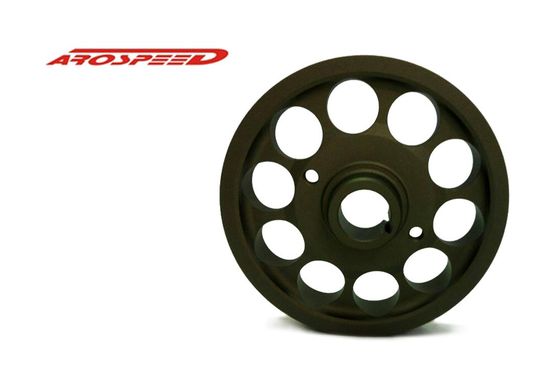 AROSPEED HARDEN LIGHTEN ALUMINIUM CRANK PULLEY PERODUA MYVI 1.5