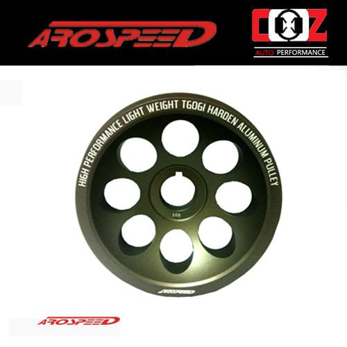 AROSPEED HARDEN LIGHTEN ALUMINIUM CRANK PULLEY WIRA 1.6/1.8 4G92/93