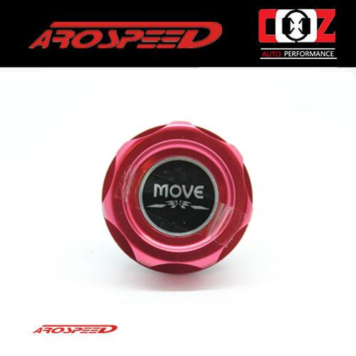 Arospeed Racing Engine Oil Filler Cap For DAIHATSU (MOVE) - RED