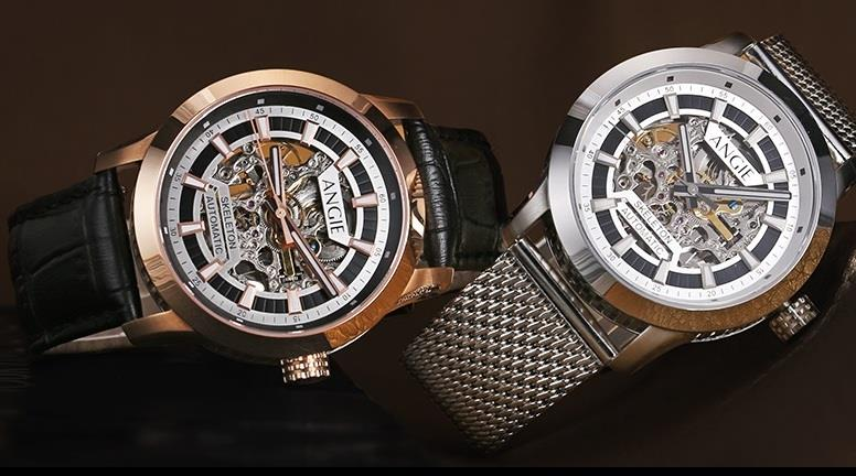 New Arrivals! Angie Automatic Skeleton 42mm Watch