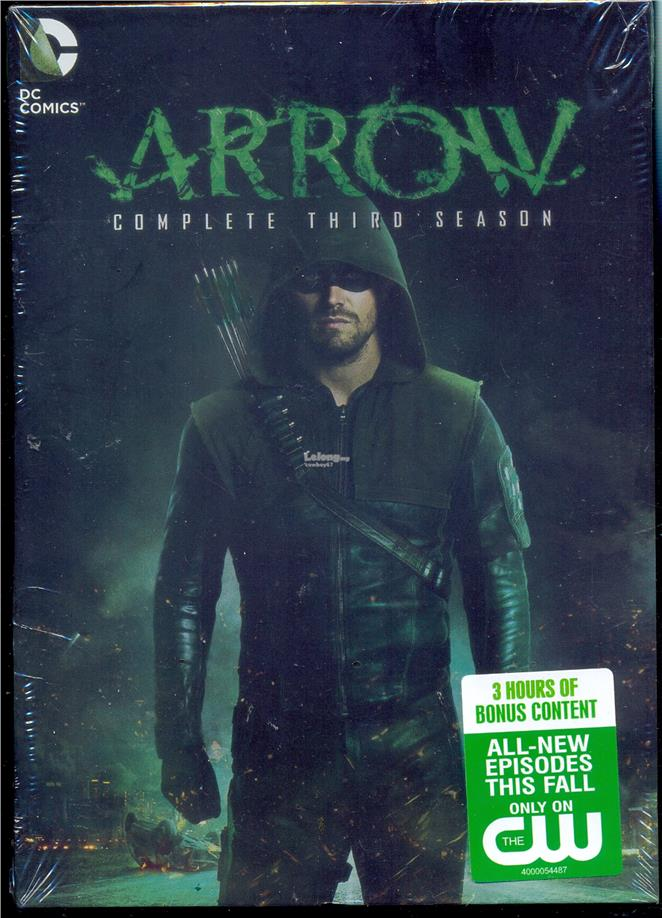 Arrow  Complete Third Season - New DVD