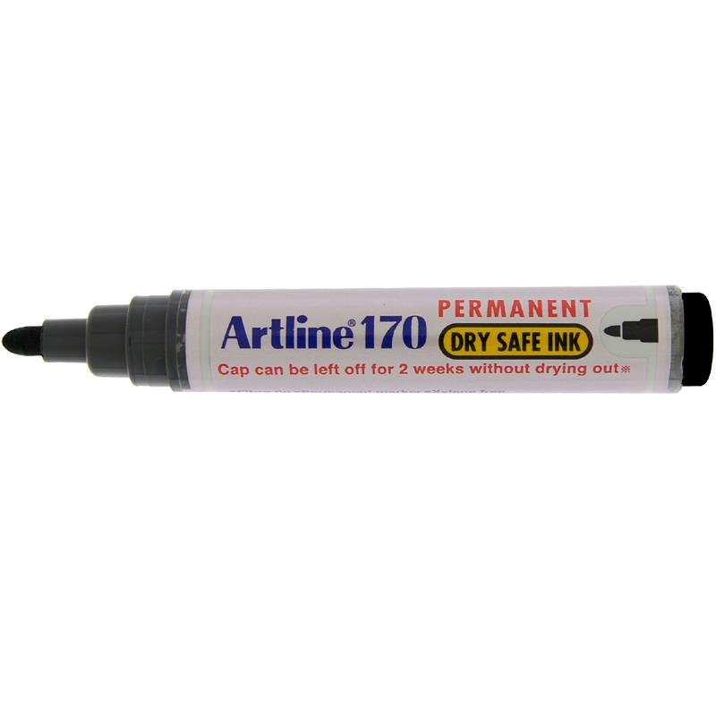 Artline 170 Marker Pen - Black