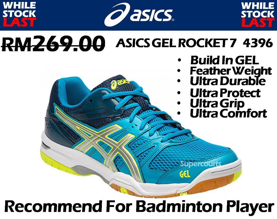 asics badminton shoes