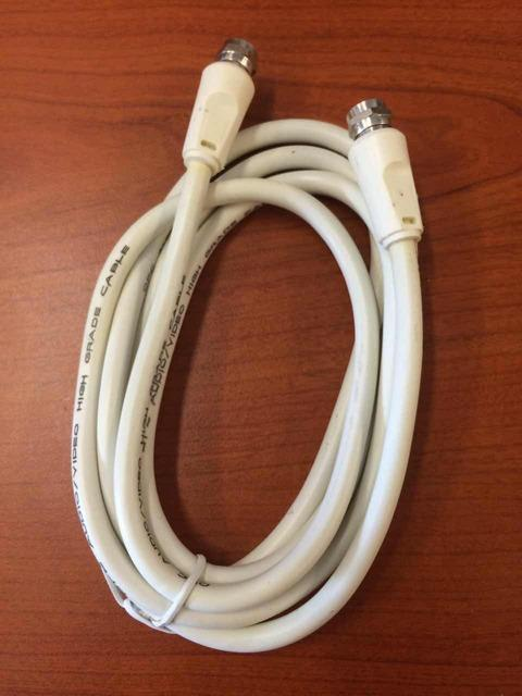 ASTRO CABLE WIRE 1.5M 3M 5M WHITE PLUG TO PLUG