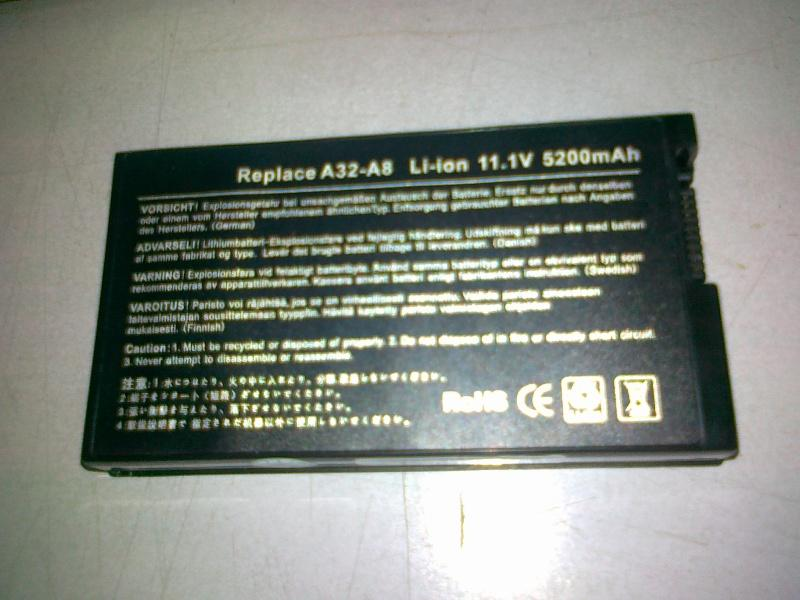 Asus A8 Series Notebook OEM Battery 121111