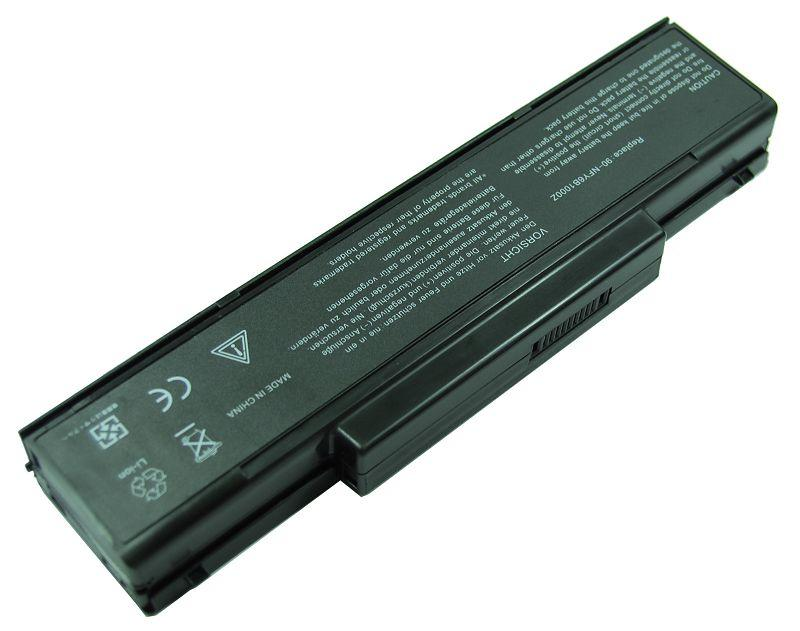 asus a9 battery 6cell black