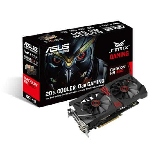 ASUS AMD GRAPHICS CARD ( STRIX-R9380-DC2OC-4GD5-GAMING )
