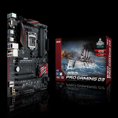 ASUS B150-PRO GAMING D3 Socket 1151 B150 Express Chipset Mianboard