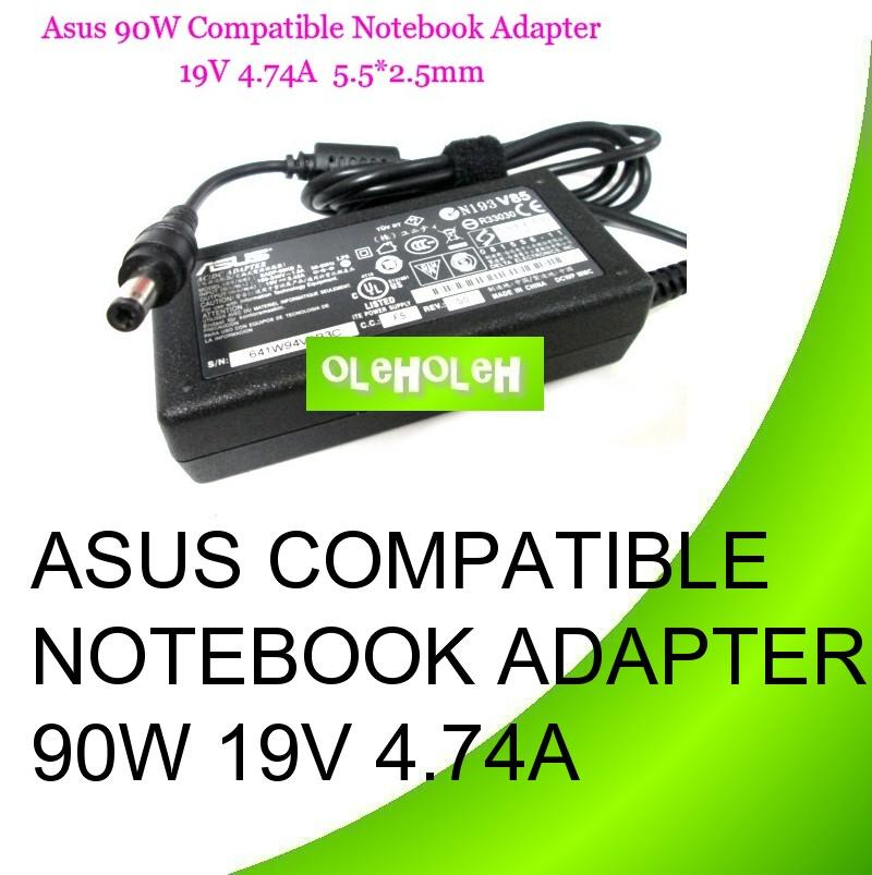 Asus Compatible Notebook Adapter 90W 19V 4.74A