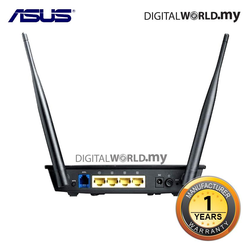 Asus DSL-N12E Wireless N300 Modem Router