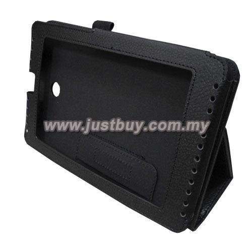 Asus Fonepad 7 ME372 Leather Case - Black