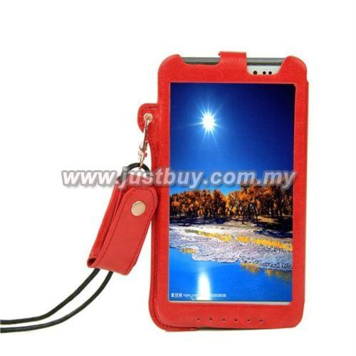 Asus Fonepad Note 6 ME560CG Leather Case - Red