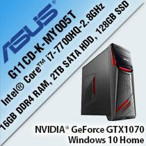 ASUS G11CD-K-MY005T GAMING DESKTOP PC