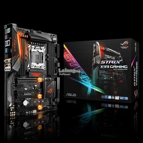 ASUS Motherboard INTEL Socket2011-v3 ROG STRIX X99 GAMING