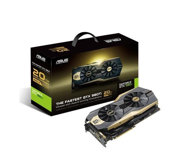 ASUS NVIDIA GRAPHICS CARD ( GOLD20TH-GTX980TI-P-6G-GAMING )