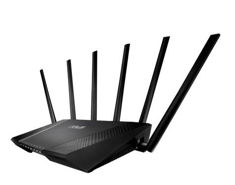 ASUS ROUTER GIGABIT WiFi N600MBPS TRI BAND (RT-AC3200) For Unifi/Maxis