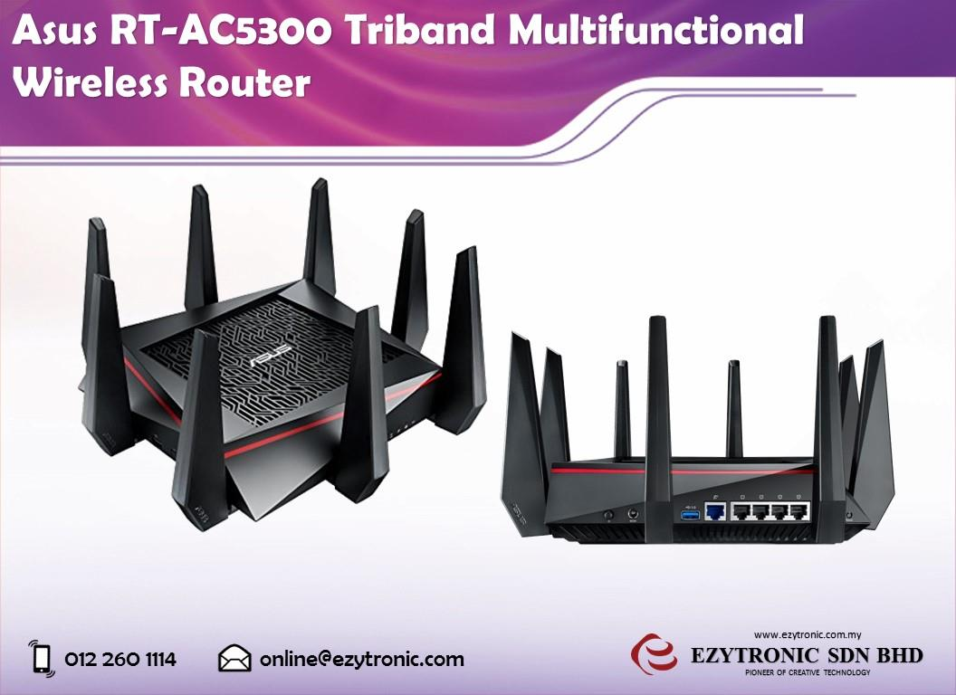 Asus RT-AC5300 Triband Multifunctional Wireless Router