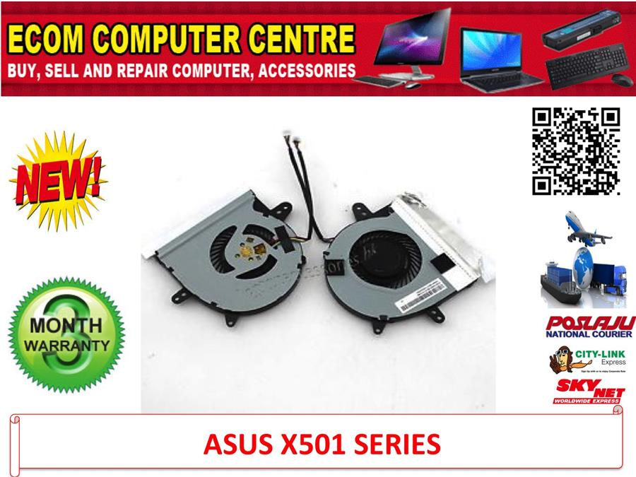 New For Asus X501 X501U Series Laptop CPU Fan