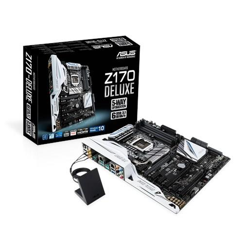 ASUS Z170-DELUXE Z170 Express Chipset Socket 1151 Intel Motherboard