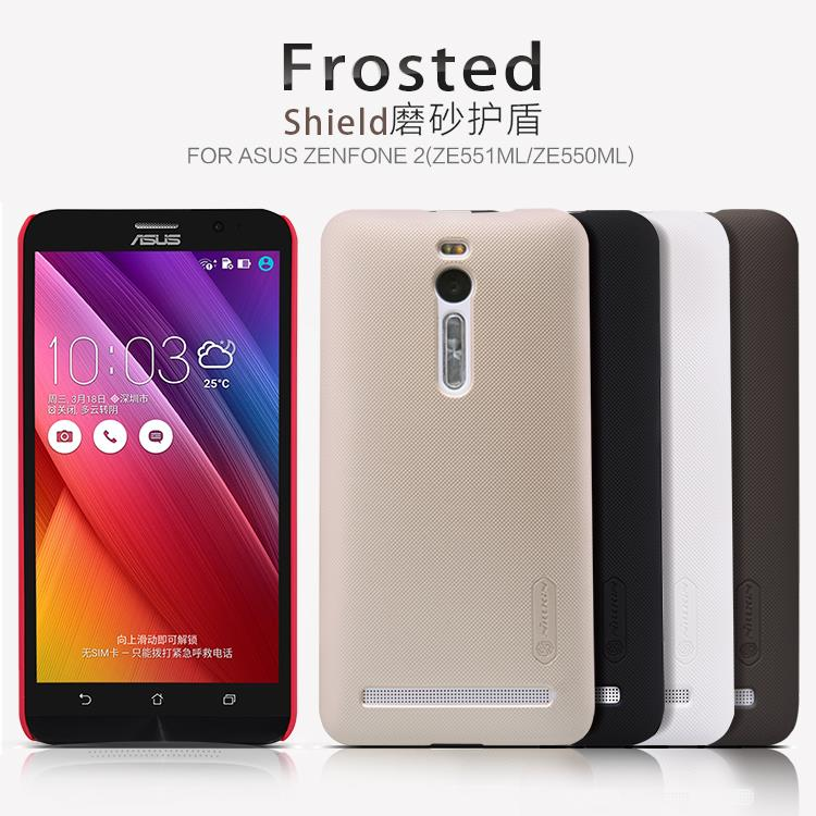 "Asus Zenfone 2 5.5"" ZE551ML Nillkin Super Frosted Shield Sand Case"