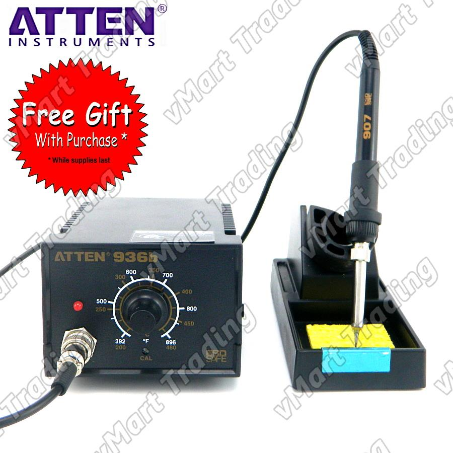 ATTEN AT936b 936 Soldering Station + FREE GIFTS