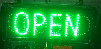 [Attract Customers] Open And Close LED Signboard
