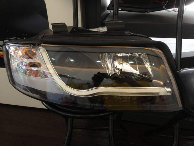AUDI A4 01-04 8E Cool Starline DRL Projector Head Lamp