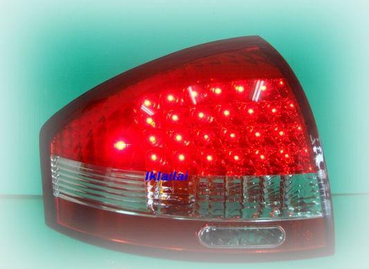 AUDI A6 '98-02 Red Clear LED Tail Lamp