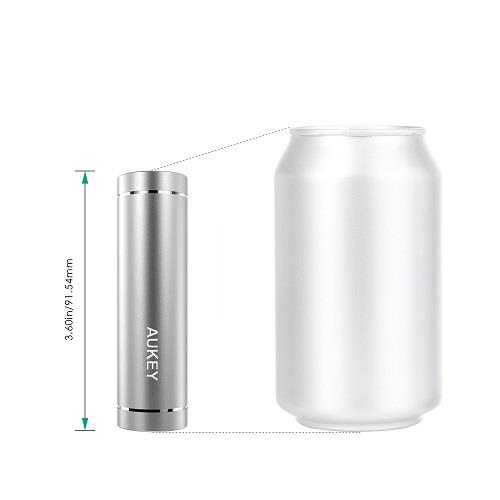 Aukey PB-N37 Mini Powerbank 5000mAh (Silver)