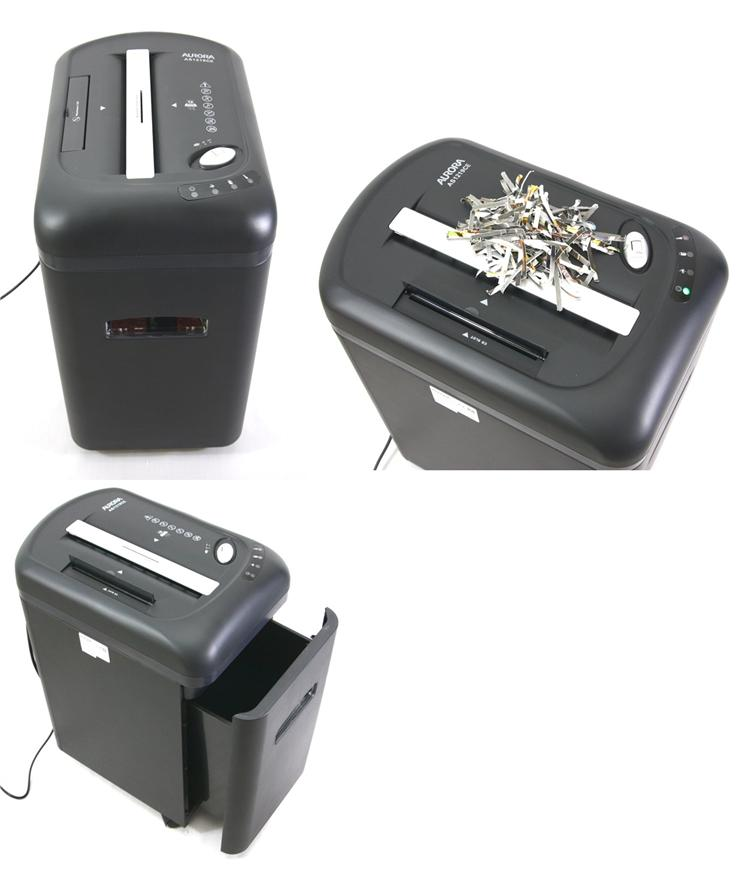 Aurora Paper Shredder Cross Cut 12 Sheets