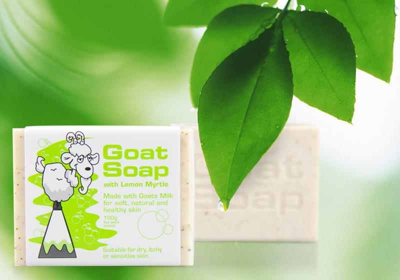 Australia Goat Milk Soap 100g - Lemon Myrtle