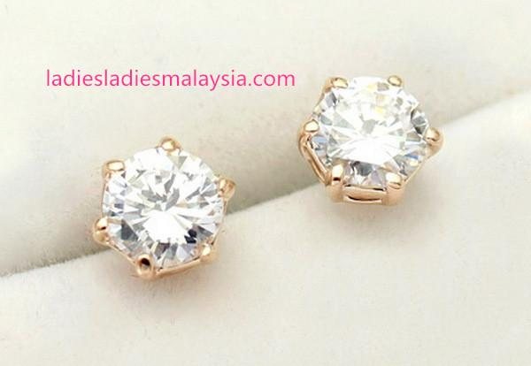 Austrian Crystal Stud Earrings