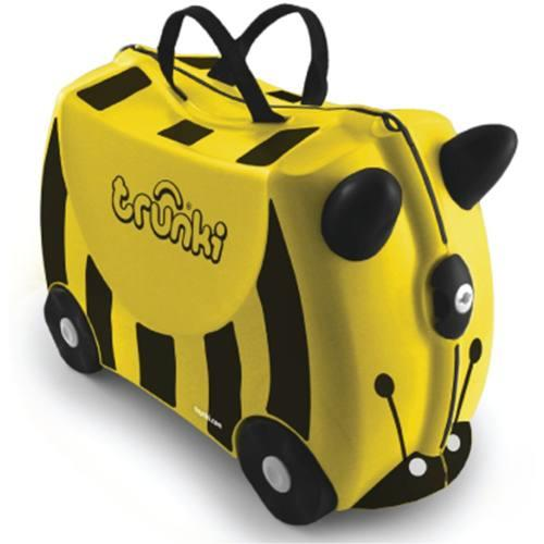 New Authentic Trunki BERNARD the Bee Ride-on Suitcase