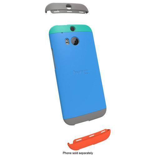Authorized C940 Double Dip Back Cover Case HTC One M8 ~ORIGINAL ~BLUE