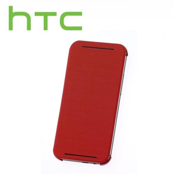 Authorized HC V941 Double Dip Flip Case HTC One /M8 ~ORIGINAL ~RED