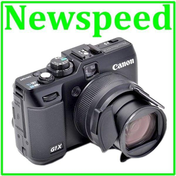 New Auto Lens Cap for Canon Powershot G1X Digital Camera